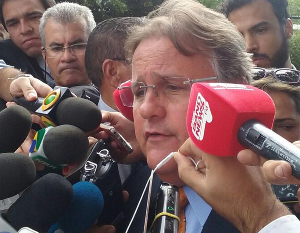 O ex-ministro da Secretaria de Governo Geddel Vieira Lima (MDB-BA) (Foto: Filipe Matoso/G1)