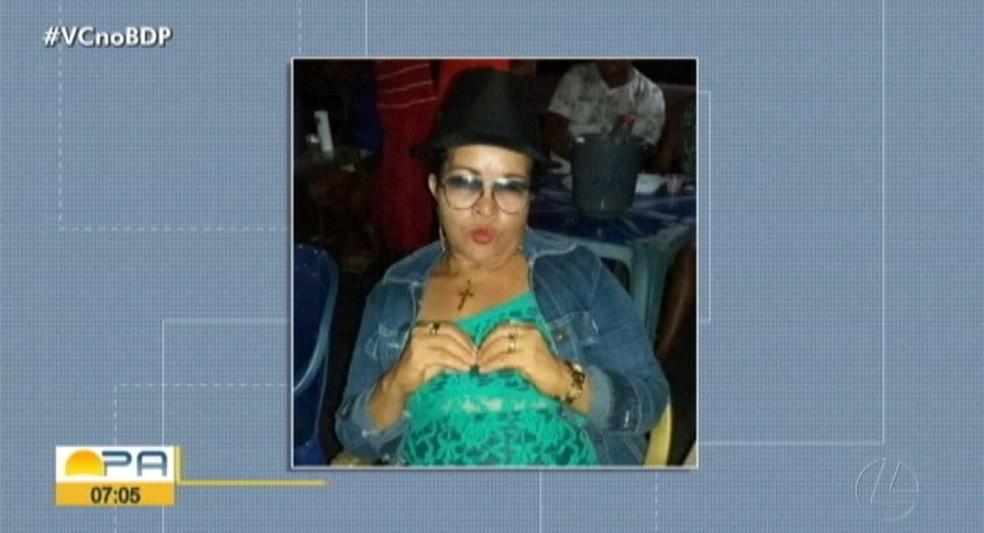 A dona do bar foi uma das vítimas da chacina — Foto: Reprodução/TV Liberal