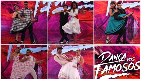 'Dança dos Famosos 2017': Mulheres se apresentam ao som do rock