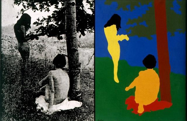Obra de Claudio Tozzi, em cartaz na galeria (Foto: divulgação)
