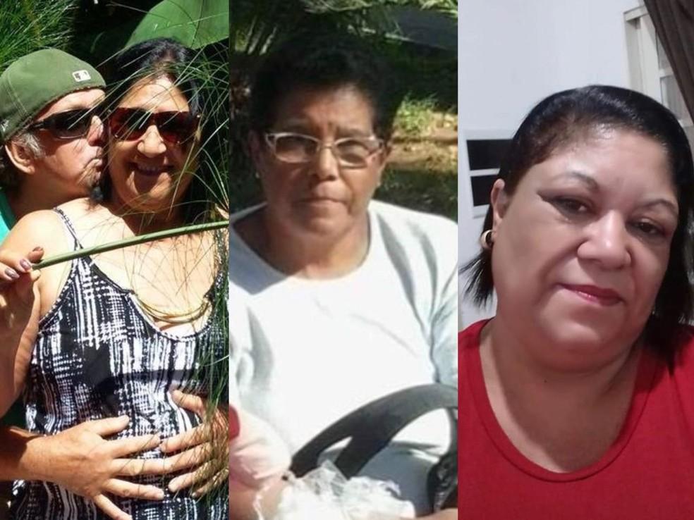 Vítimas do acidente na via Dutra em Taubaté — Foto: Arquivo Pessoal