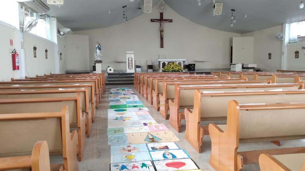 Por segurança, missas e cultos passaram semanas proibidos no Maranhão — Foto: Divulgação/Prefeitura de Iguaba Grande