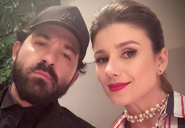 Eduardo Amarante e Paula Fernandes (Foto: Reprodução/Instagram)