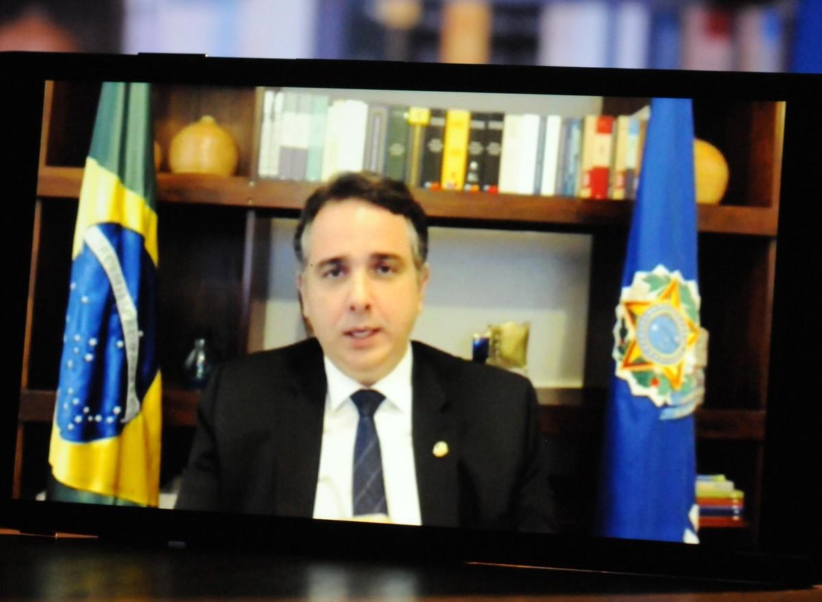 Presidente do Senado, Rodrigo Pacheco anuncia filiação ao PSD