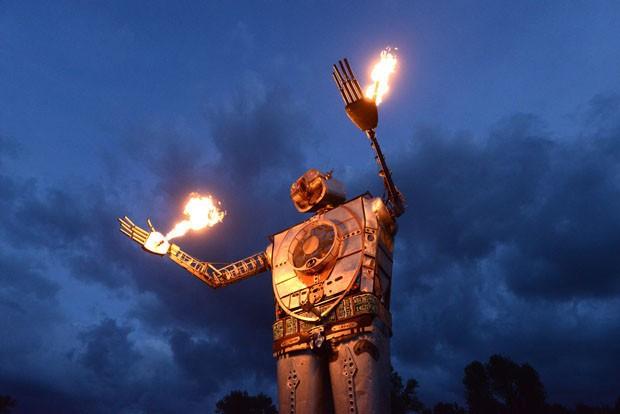 Burning Man 2018: as instalações artísticas do festival do deserto  (Foto: Reprodução )