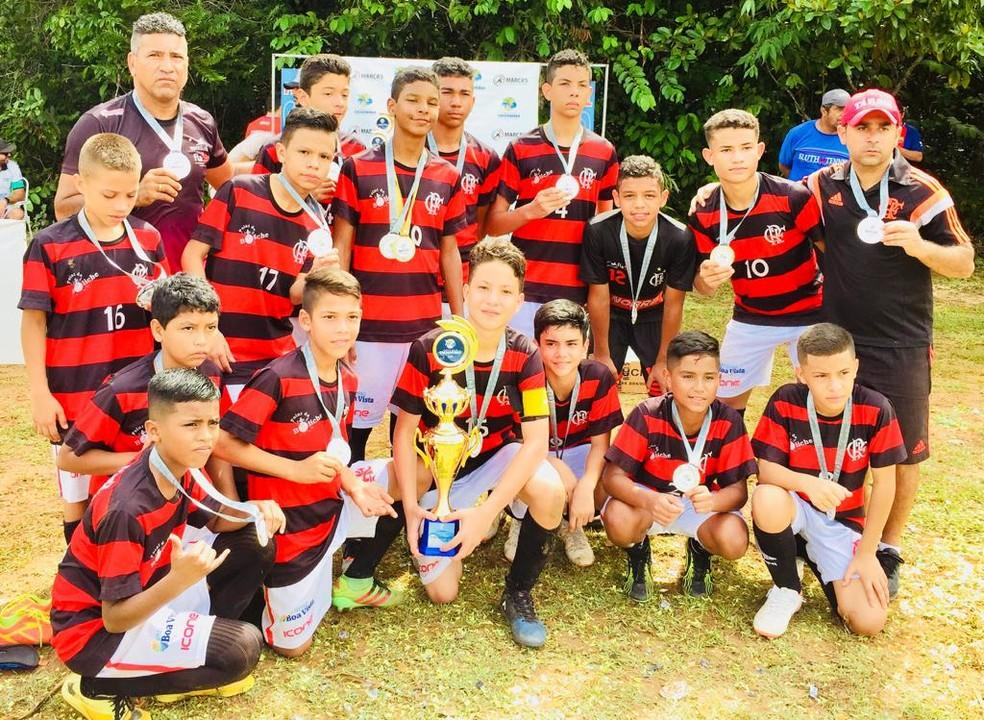 Escolinha do Flamengo de Roraima é vice-campeã da Copa das ...