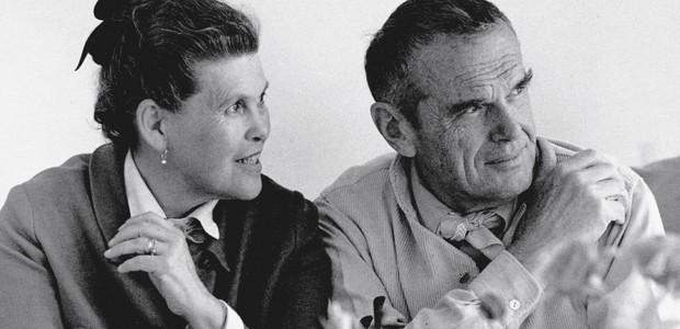 Charles e Ray Eames (Foto: Divulgação )