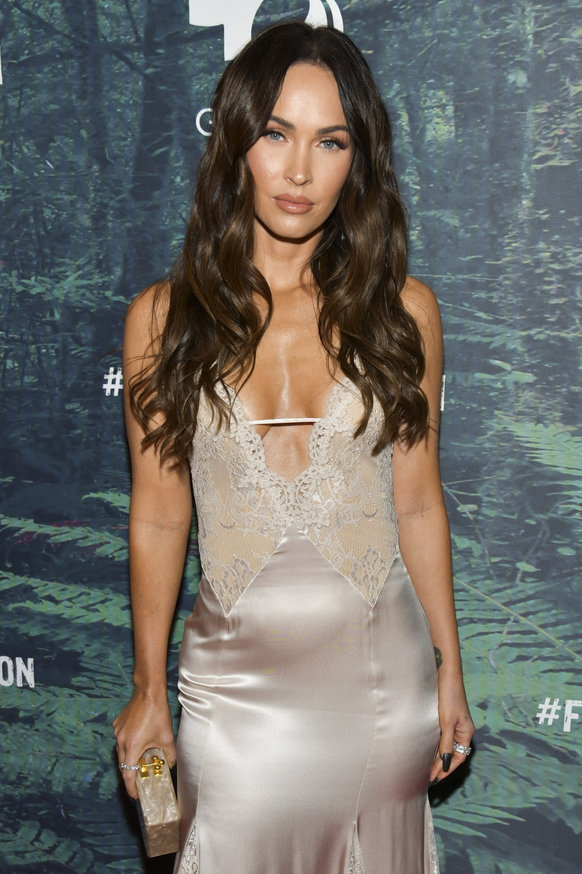 Megan Fox no evento Fight 4 the Amazon, em Los Angeles (Foto: Getty Images)