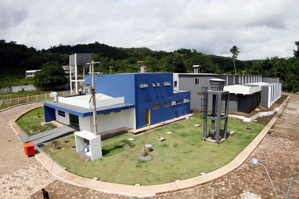 -  Central de Triagem Masculina na penitenciária de Santarém  Foto: Thiago Gomes/Ascom Susipe