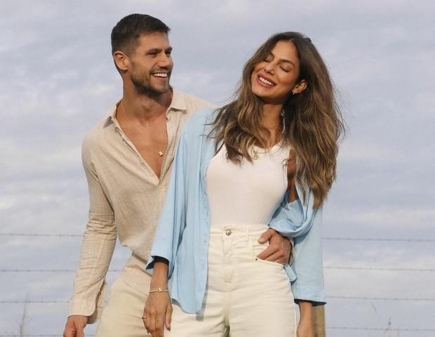 Jonas e Mari (Foto: @lezalez)