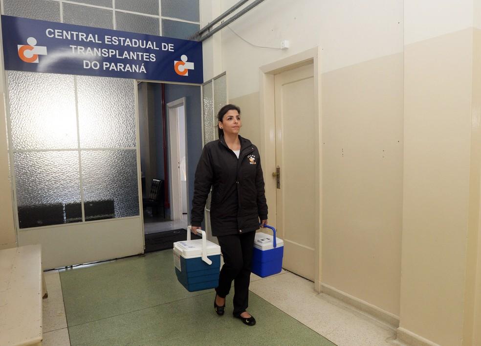 No mês de abril, foram realizadas 47 doações efetivas no Paraná (Foto: Venilton Küchler/ Divulgação/ ANPr)