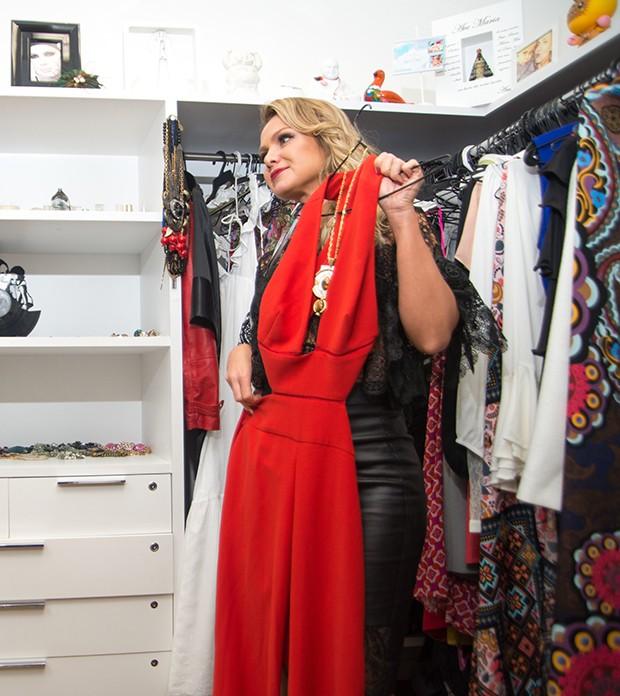 Eliana em seu camarim (Foto: Cauê Moreno/Editora Globo)