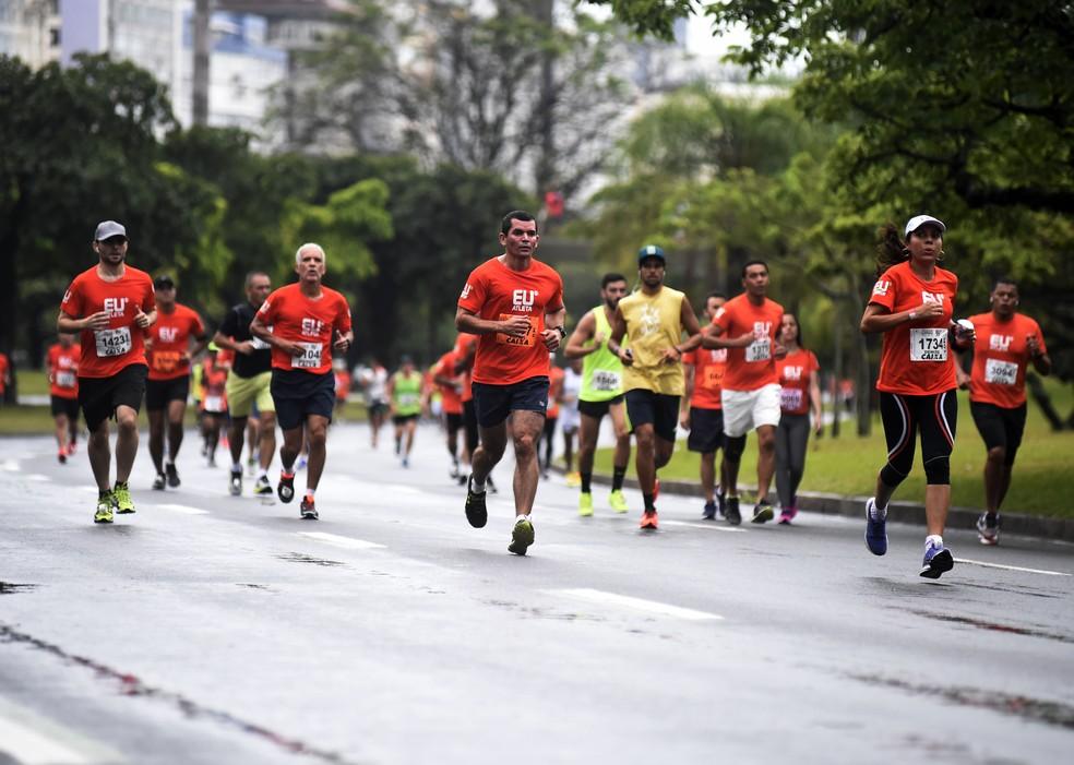 Corredores vão fazer duas distâncias: 5km ou 10km (Foto: André Durão)