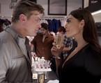 Arthur (Fabio Assunção) e Carolina (Juliana Paes) em 'Totalmente demais' | TV Globo