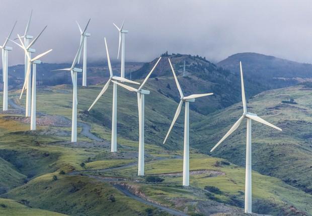 energia eólica; energia alternativa; energia limpa (Foto: Thinkstock)