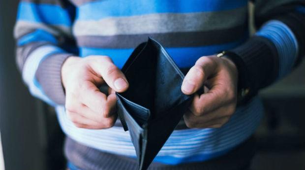 sem dinheiro, dívidas, pobre, carteira (Foto: Divulgação)