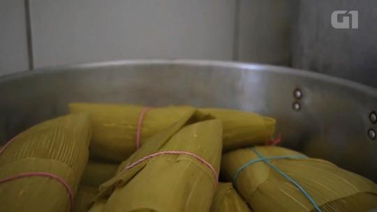 Pesquisadora da UFG traça perfil dos 'pamonheiros' após dois anos visitando pamonharias de Goiânia