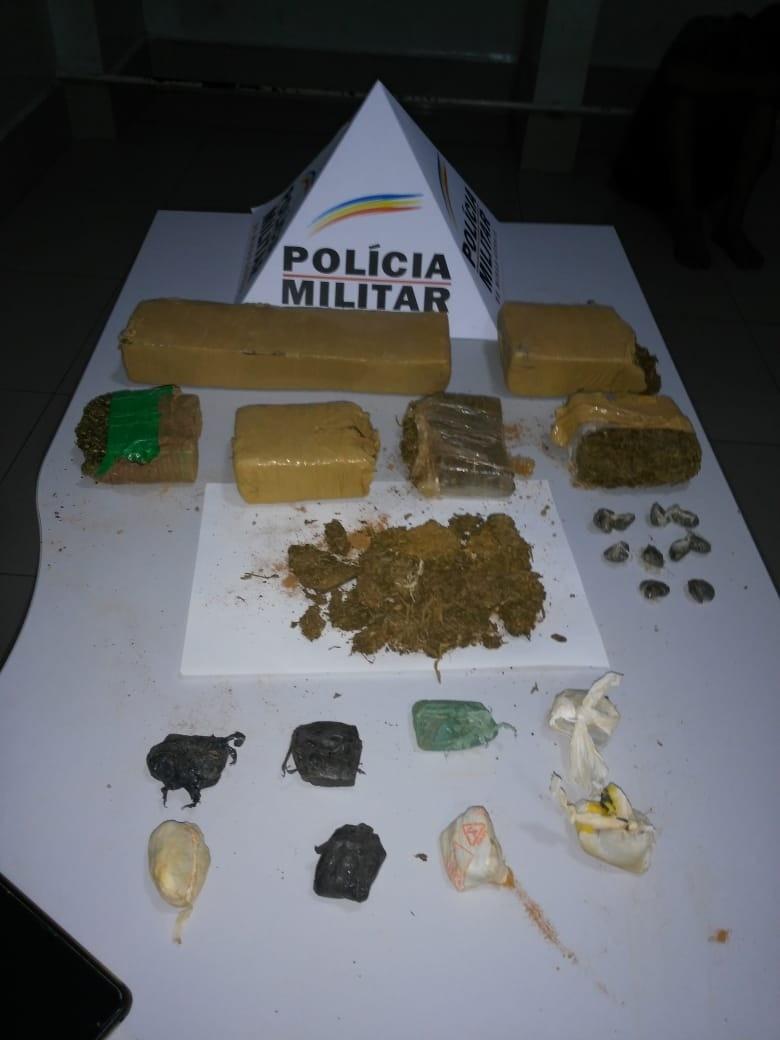 Adolescente é apreendido com cinco quilos de maconha em Ipatinga - Notícias - Plantão Diário