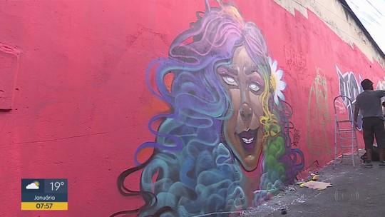 Projeto reúne artistas e leva cores e arte para os becos de Contagem