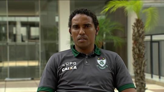 Autor do gol do título do América-MG pede permanência de Enderson Moreira