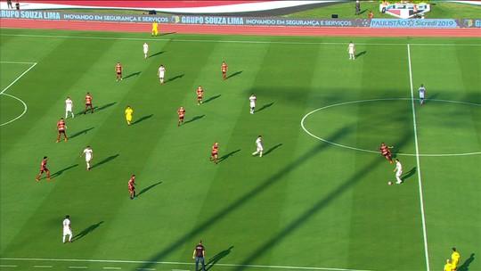 Um novo São Paulo: time toca a bola por 50 segundos até o gol de Igor Gomes