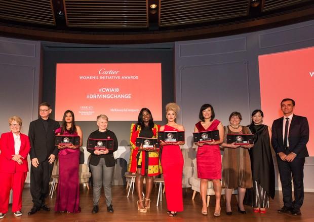 As vencedoras da edição 2018 da Cartier Women's Initiative (Foto: Divulgação)