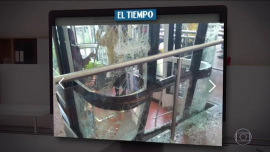 Turistas brasileiros ficam feridos em acidente em teleférico em Bogotá, na Colômbia