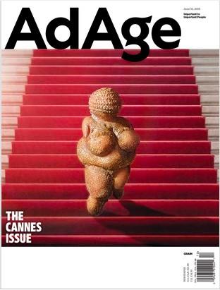 Capa da edição do jornal americano Ad Age (Foto: Reprodução)