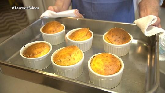 Reprise: Chef Eduardo Maya prepara o suflê de queijo