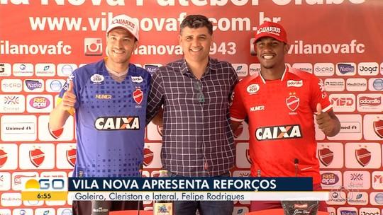 Cleriston e Felipe Rodrigues buscam afirmação no Vila Nova