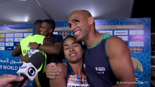 Claudiney Batista é ouro no Mundial de Atletismo Paralímpico e Brasil chega a 16 medalhas