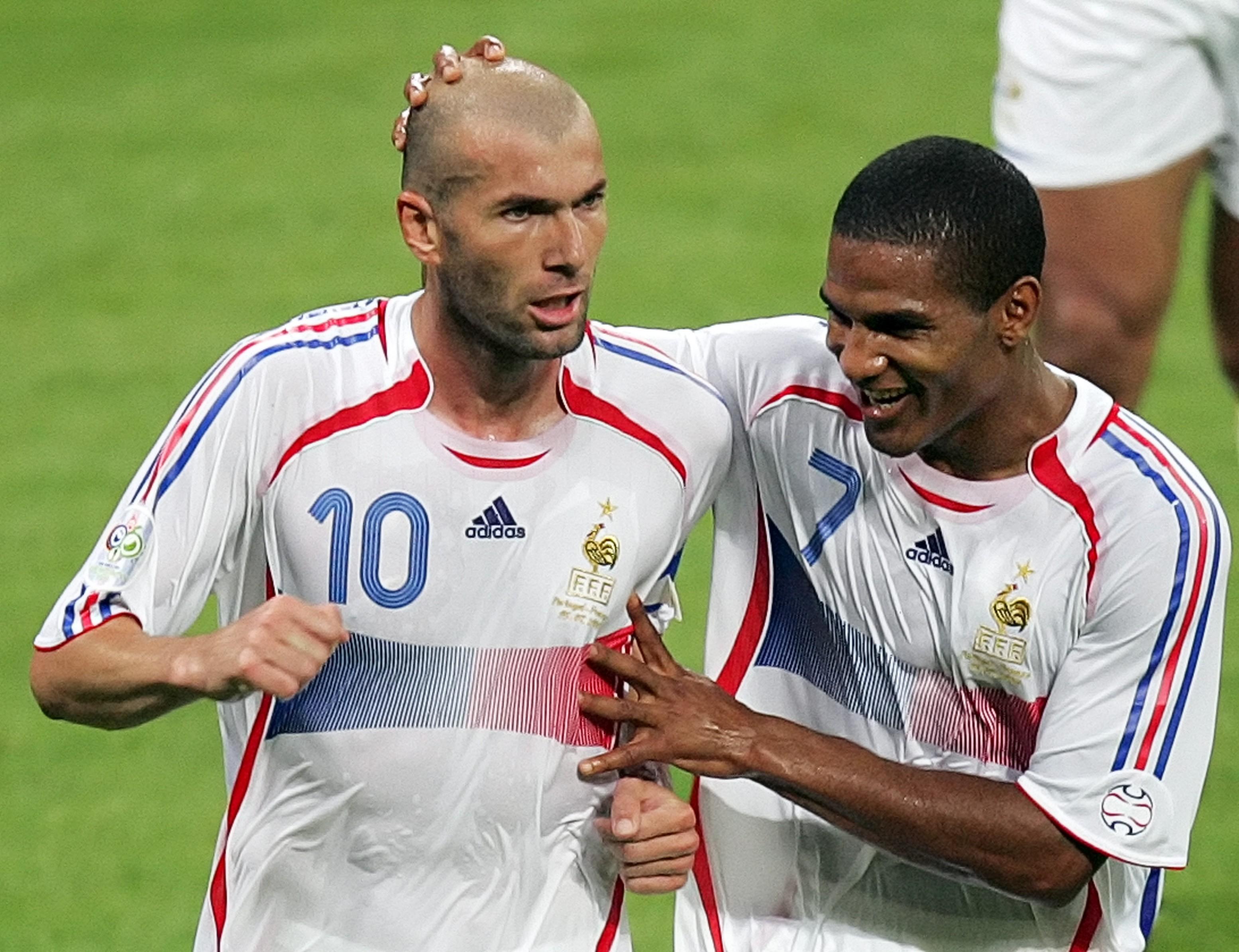 Zidane em 2006 precisou de 2 atuações para ser eleito