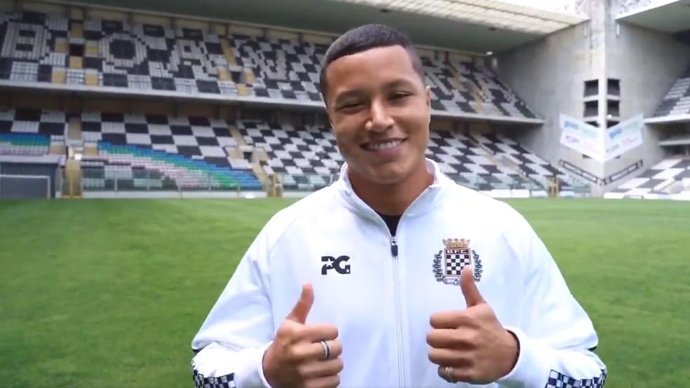 Marlon tem 19 jogos e um gol na temporada 2019-2020 — Foto: Reprodução