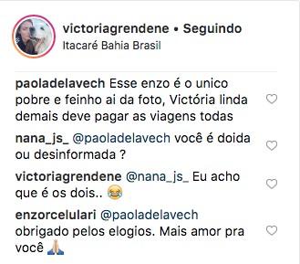 Comentários (Foto: Reprodução Instagram)