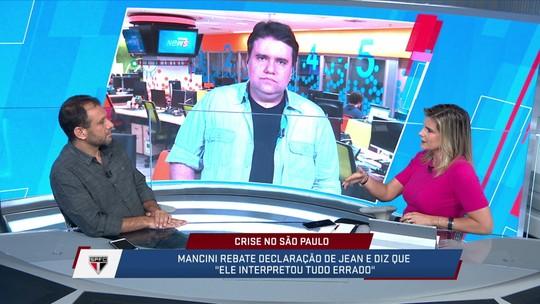 """Mesa discute crise recente do São Paulo:""""Briga entre técnico interino e goleiro reserva"""""""