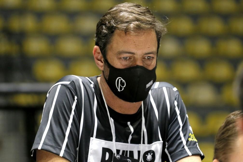 Duílio Monteiro Alves, presidente do Corinthians — Foto: José Manoel Idalgo / Ag.Corinthians