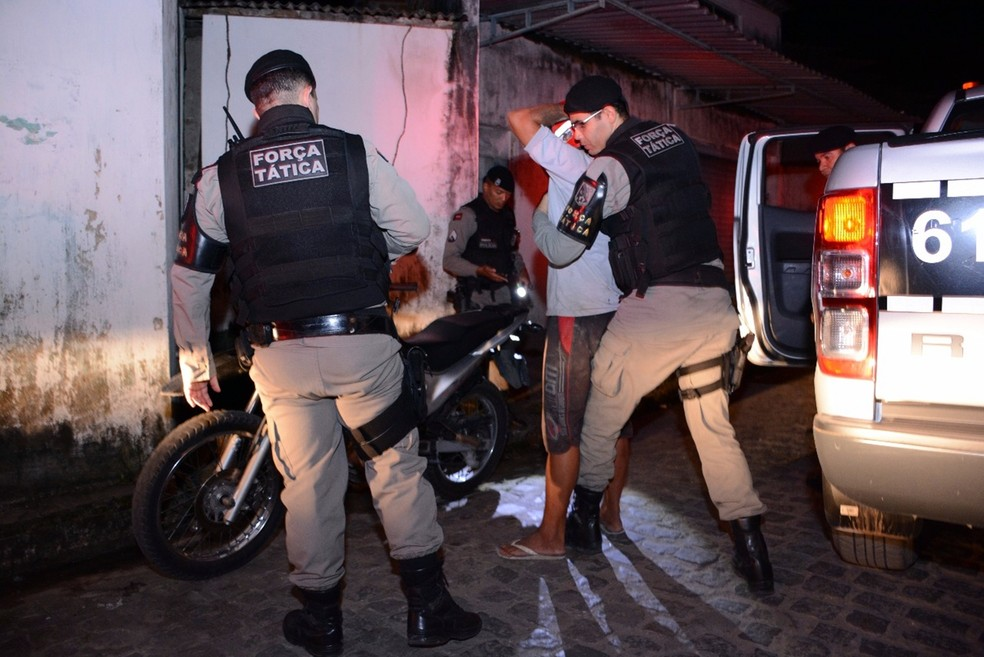 Operação Impacto acontece em oito cidade, incluindo João Pessoa e Campina Grande (Foto: Wagner Varela/Polícia Militar da Paraíba)