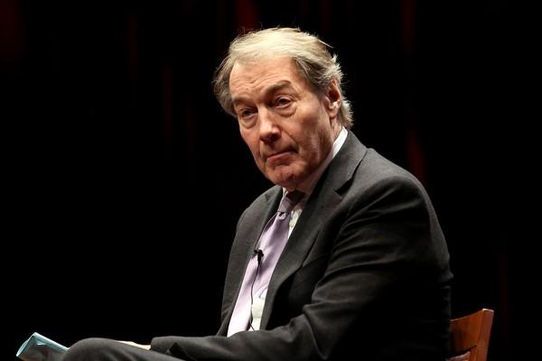 O jornalista e apresentador Charlie Rose, acusado de abuso e assédio por várias mulheres (Foto: Getty Images)
