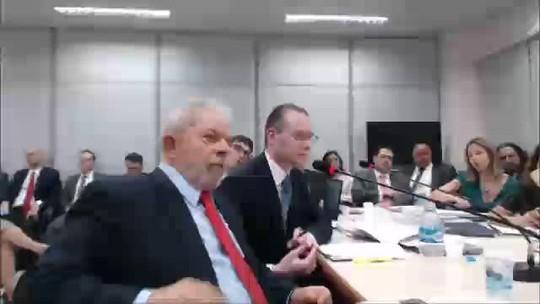 ASSISTA a trecho do depoimento de Lula