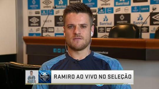 """Ramiro comemora vitória do Grêmio na Argentina, mas avisa: """"Não podemos cair na soberba"""""""