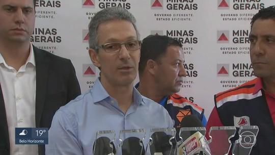 Zema anuncia que estado vai ajudar financeiramente Barão de Cocais, na Região Central