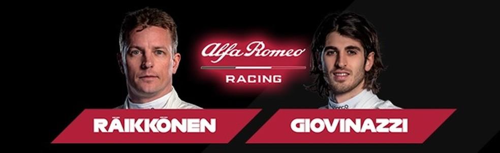 Alfa Romeo 2020 — Foto: Reprodução/FOM