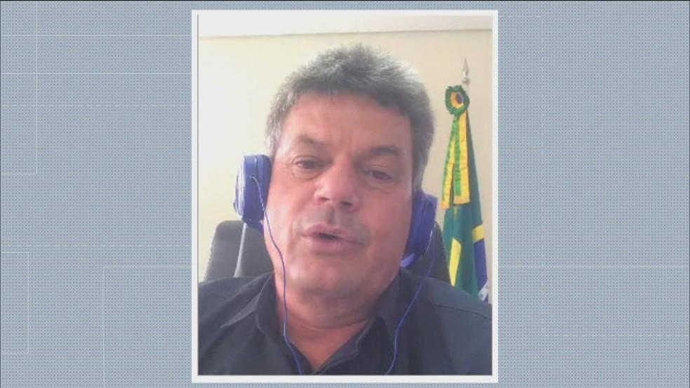 Prefeito Duílio de Castro, do Patriotas, promete recorrer da decisão da Justiça — Foto: Reprodução / TV Globo