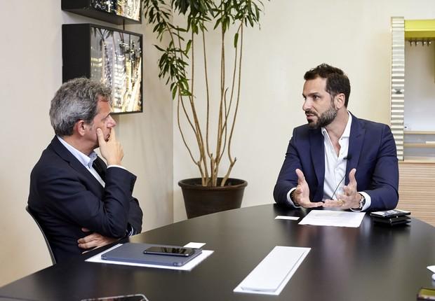 Daniel Rossi, da Capitale Energia: 'No setor elétrico, acredito muito na colaboração. O setor elétrico é colaborativo por natureza' (Foto: Arthur Nobre/Época NEGÓCIOS)