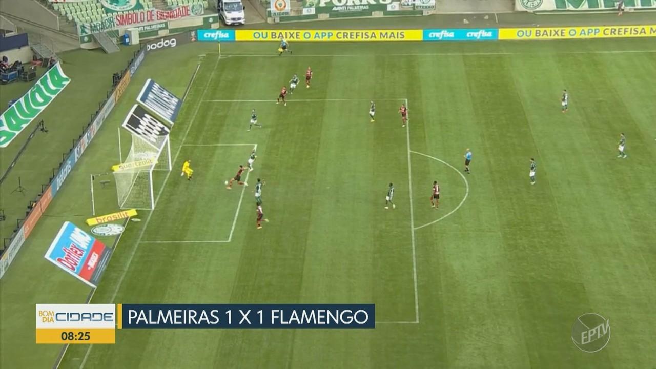 São Paulo, Palmeiras e Santos empatam no Brasileirão