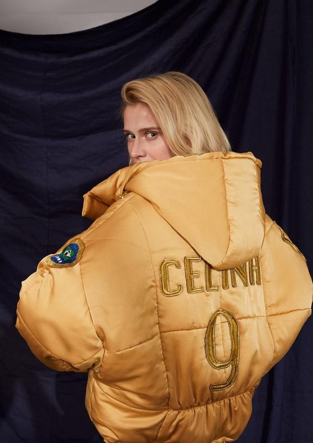 Celina Locks lança coleção inspirada em futebol (Foto: Divulgação)