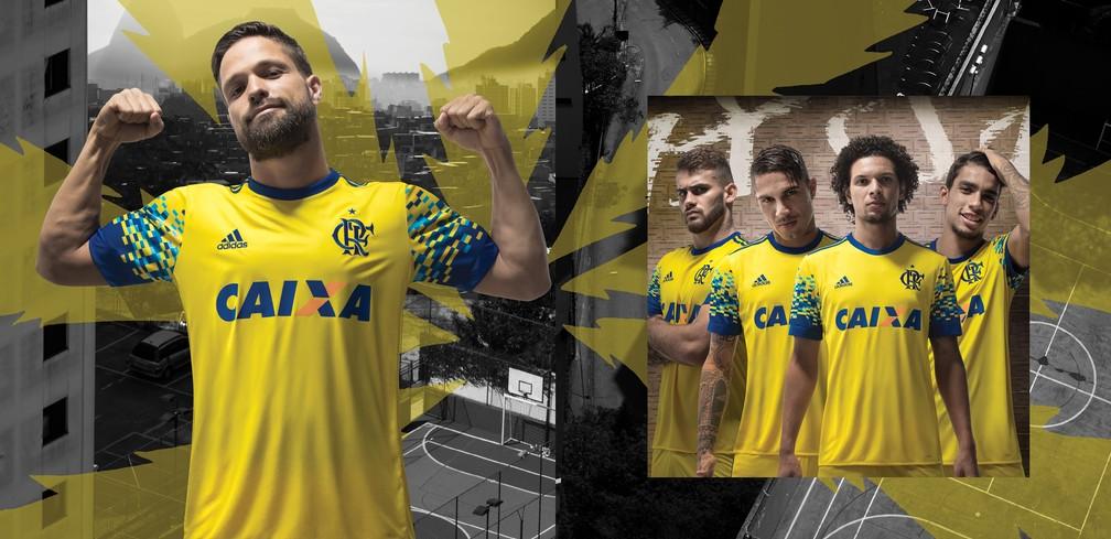 Nova camisa 3 do Flamengo (Foto: Adidas Brasil)