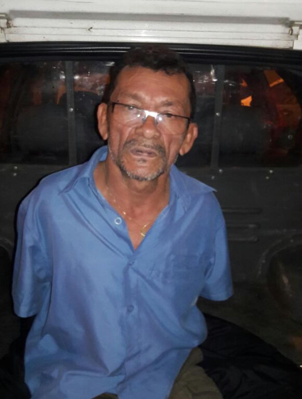 Homem foi preso após estuprar jovem (Foto: Divulgação/PM)