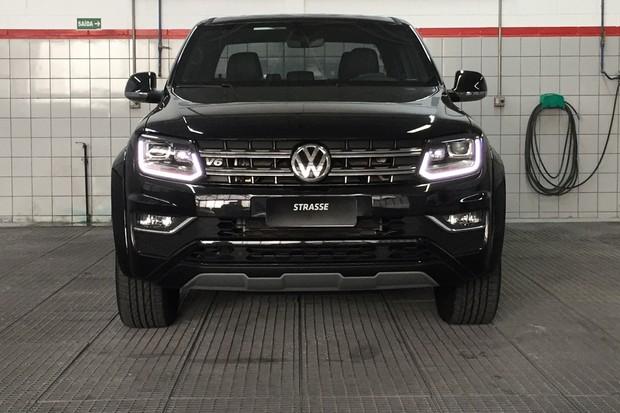 Volkswagen Amarok V6 vai a 310 cv (e a R$ 231 mil) com