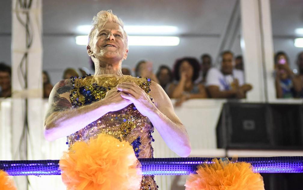 Miguel Falabella é o homenageado deste ano pela Unidos da Tijuca (Foto: Alexandre Durão/G1)